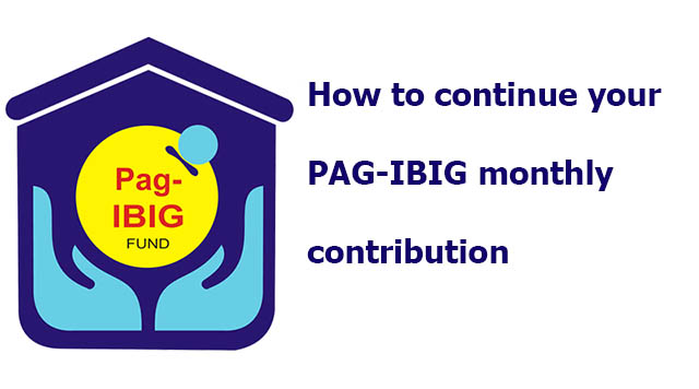 How to continue paying PAG-IBIG contribution