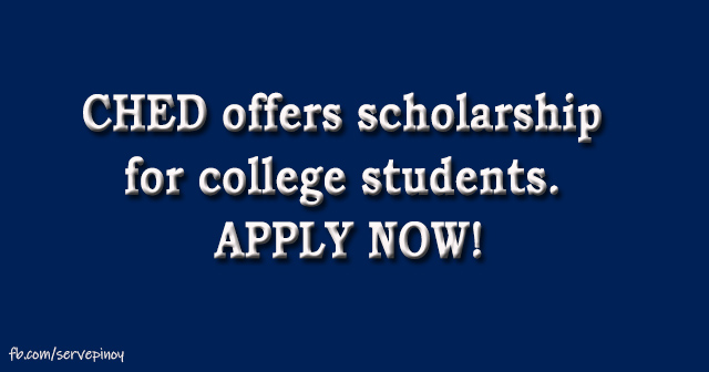 CHED offers scholarship for college students, PHP 6k to 15k per semester allowance at stake