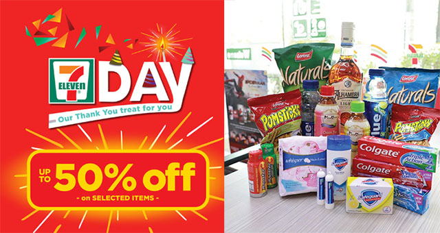 PROMO ALERT: 7-11 offers up to 50% off on selected items today